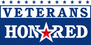 Veterans Honored Logo